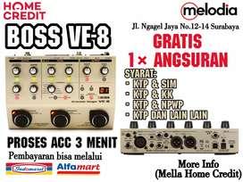 Promo Kredit Boss VE-8 Syarat KTP+SIM di Melodia Musik Surabaya