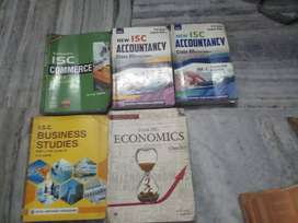 Class  11 and 12 isc books