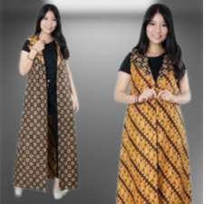 Konveksi Rompi Batik Panjang Wanita
