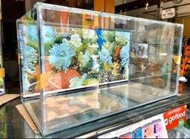Aquarium baru 60x30x30 background