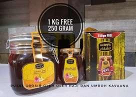 Madu al shifa 1kg  free  125gr