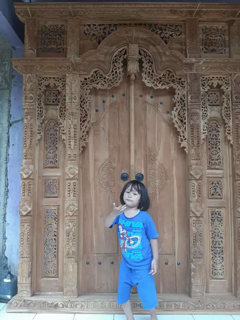cuci gudang pintu gebyok gapuro jendela rumah masjid musholla adara