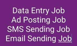 Data Entry typing work in notepad with weekly salary 5000