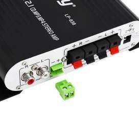 Lepy HiFi Stereo Amplifier Treble Bass Booster - LP-838