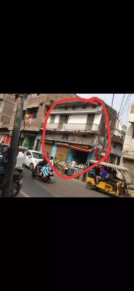 658 sf camarcial house sell in dujra gandhi maidan raja pul main road