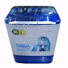 New Product Aqua Qw-880Xt Mesin Cuci 2 Tabung 8Kg Qw880Xt Sanyo