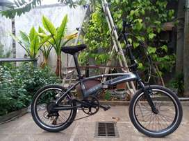 Sepedah lipat odessy modif