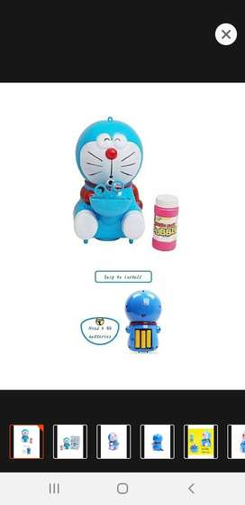 Bubble Machine Doraemon With Music and Light