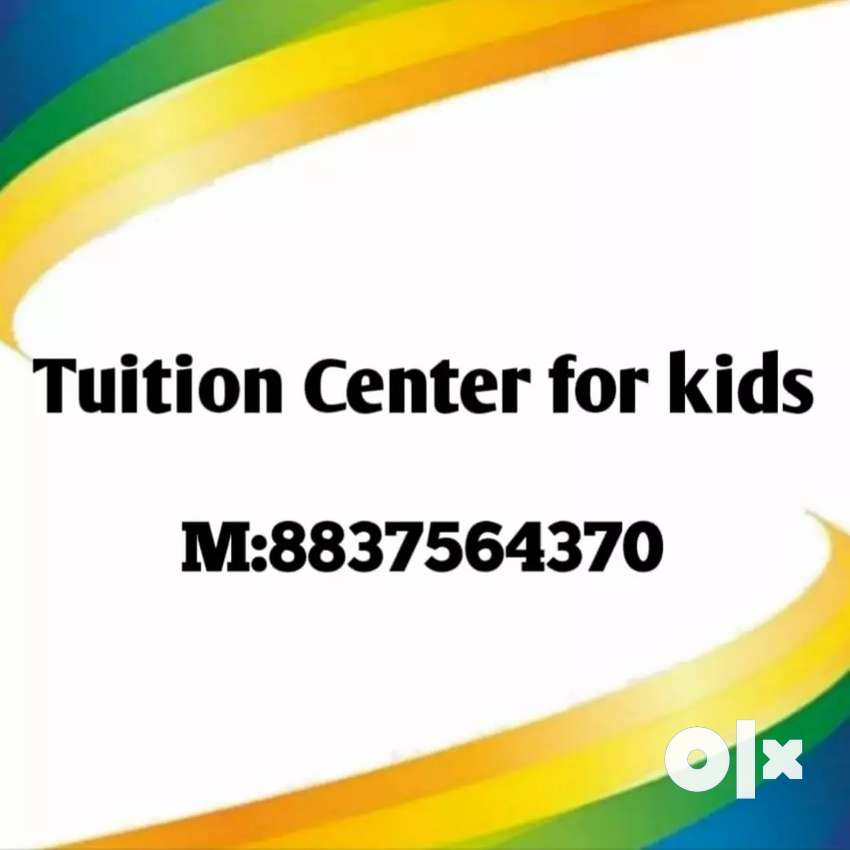 Tuition classes for kids drawing and painting classes also available