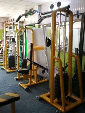 All type gym equipment's available