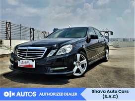 [OLX Autos] Mercedes Benz E250 2013 AMG Avangarde A/T Hitam #Shava