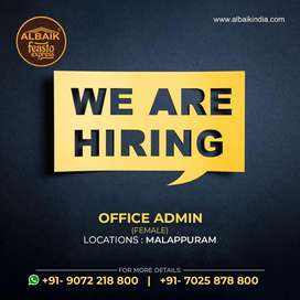 Office admin female