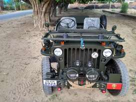 Modified open Jeep Thar gypsy
