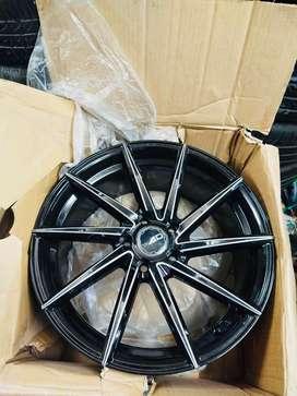 "17"" AD wheels 114 pcd ( Civic , Accord , Innova , Cruze )"