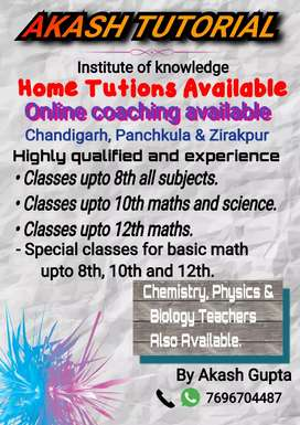 Those student want to learn maths can contact me.