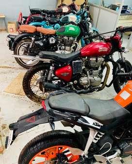 Mechanic for two wheeler