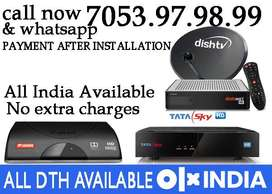 offer Dish tv Airtel digital DTH Tatasky Videocon D2H