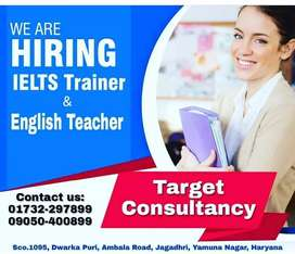 IELTS TRAINER AND ENGLISH TEACHER