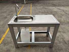 Wastafel Portable Cuci Piring type J