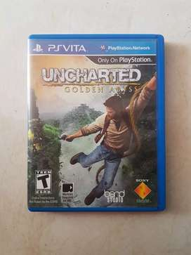 Kaset PS VITA Uncharted Golden Abyss