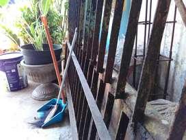 besi bekas pagar banyumanik semarang