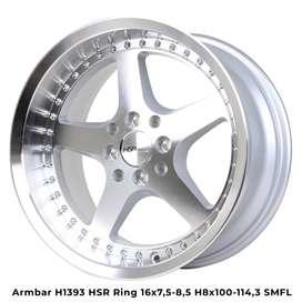 velg mobil hsr ring 16 type armbar silver