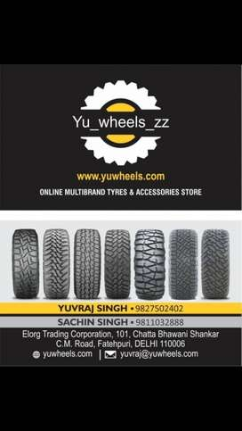 Car tyres for all cars available at lowest price