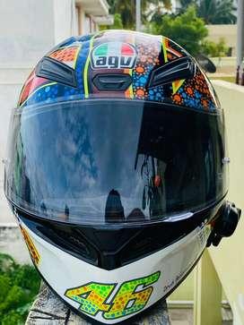 AGV helmet with parani telecom