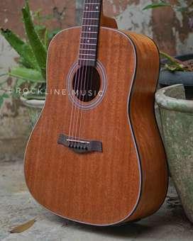Gitar Akustik cowboy brown