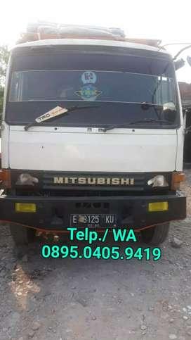 Truk/truck Mitsubishi Fuso 6ban th 85 losbak bagus siap kerja