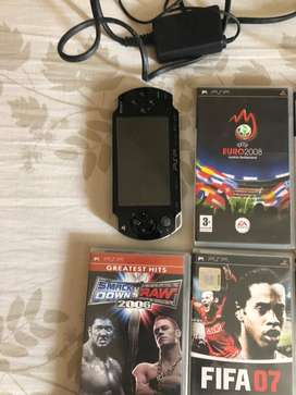 Psp with 7cds