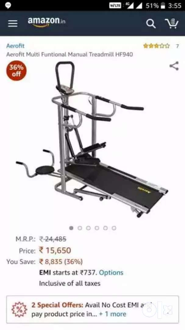 Airofit Treadmill 0