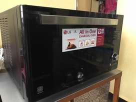 LG all in one Charcoal microwave oven 32 ltr