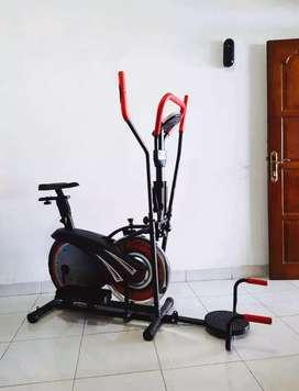 Alat fitnes murah sepeda orbitrack bisa antar kerumah