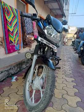 No used bike km only 7500