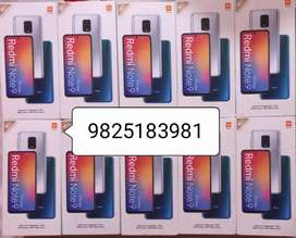 Redmi note 9 pro max 6gb 128gb new seal pack mobile with gst bill