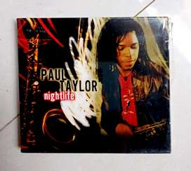 CD ori segel album 'PAUL TAYLOR NIGHTLIFE.  Kondisi NOS