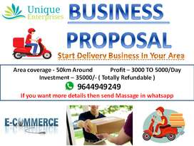 Looking for e-commerce product delivery Franchise