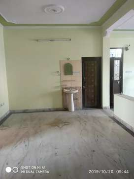 Two bhk with two balconies with front and back open