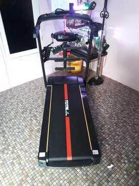 ELEKTRIK Treadmill TL 615/4 fungsi TOTAL fit
