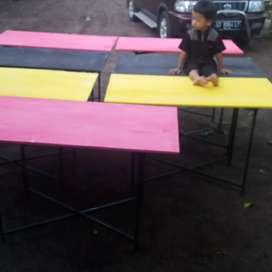 Meja lipat multriplek atau meja prasmanan