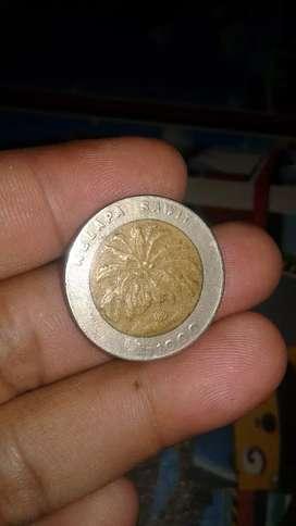 jual koin 1000 tahun 1995