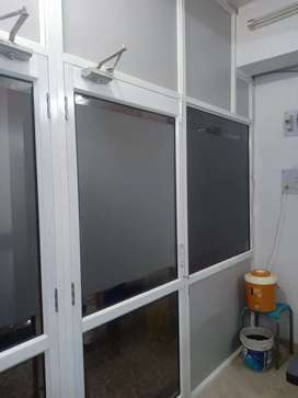Aluminum partition white powder coated for sale