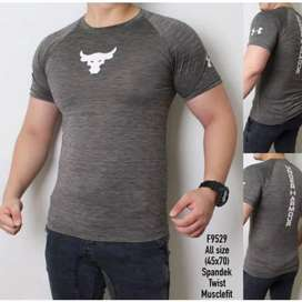 Kaos Fitness Gym Pria Bull UAA