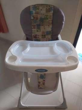 Meja makan bayi / folding baby chair