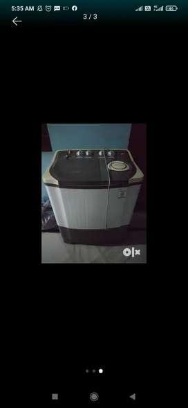 1yr old washing machine