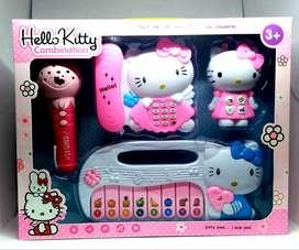 Mainan Anak HELLO KITTY Combination 4in1 Family Games