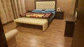 1bed room furnished apartment4rent in heights1ext bahria town rwp
