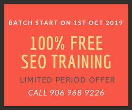 Free SEO Training Course Delhi