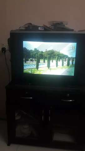 Lg tv with tv trolly
